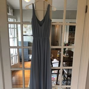 Show Me Your Mumu- KENDALL MAXI DRESS ~ STEEL BLUE